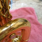 bari sax before waterkey fitted