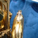 bari sax water key fitted