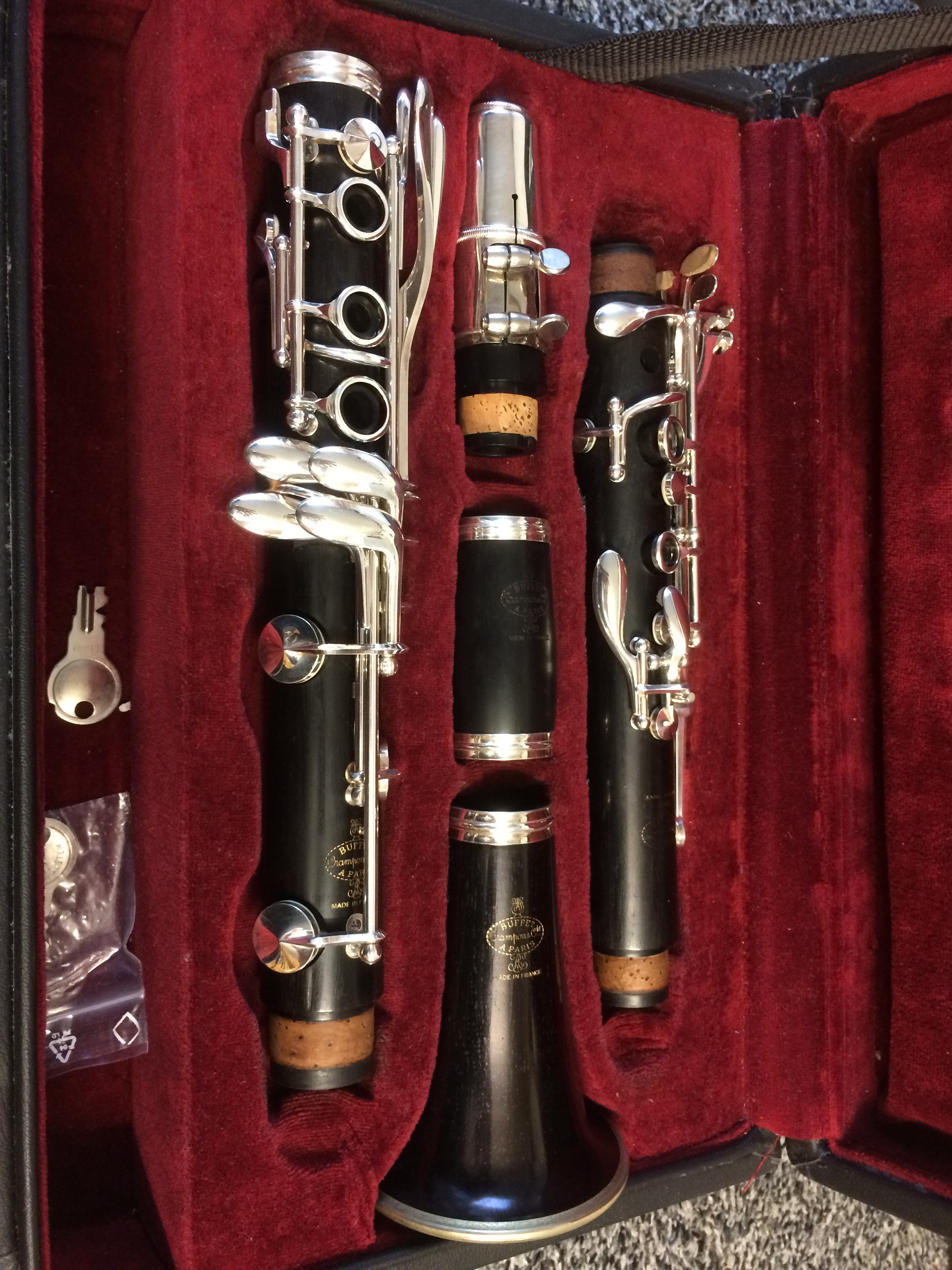 buffet rc bb clarinet dg music. Black Bedroom Furniture Sets. Home Design Ideas